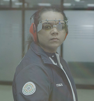 Malaika Goel - Indian shooter
